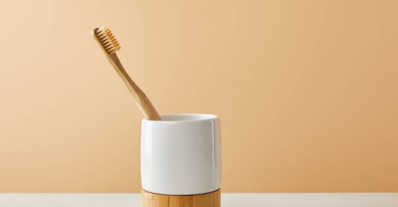 how to care for bamboo toothbrush