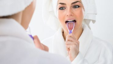 How To Use A Tongue Scraper